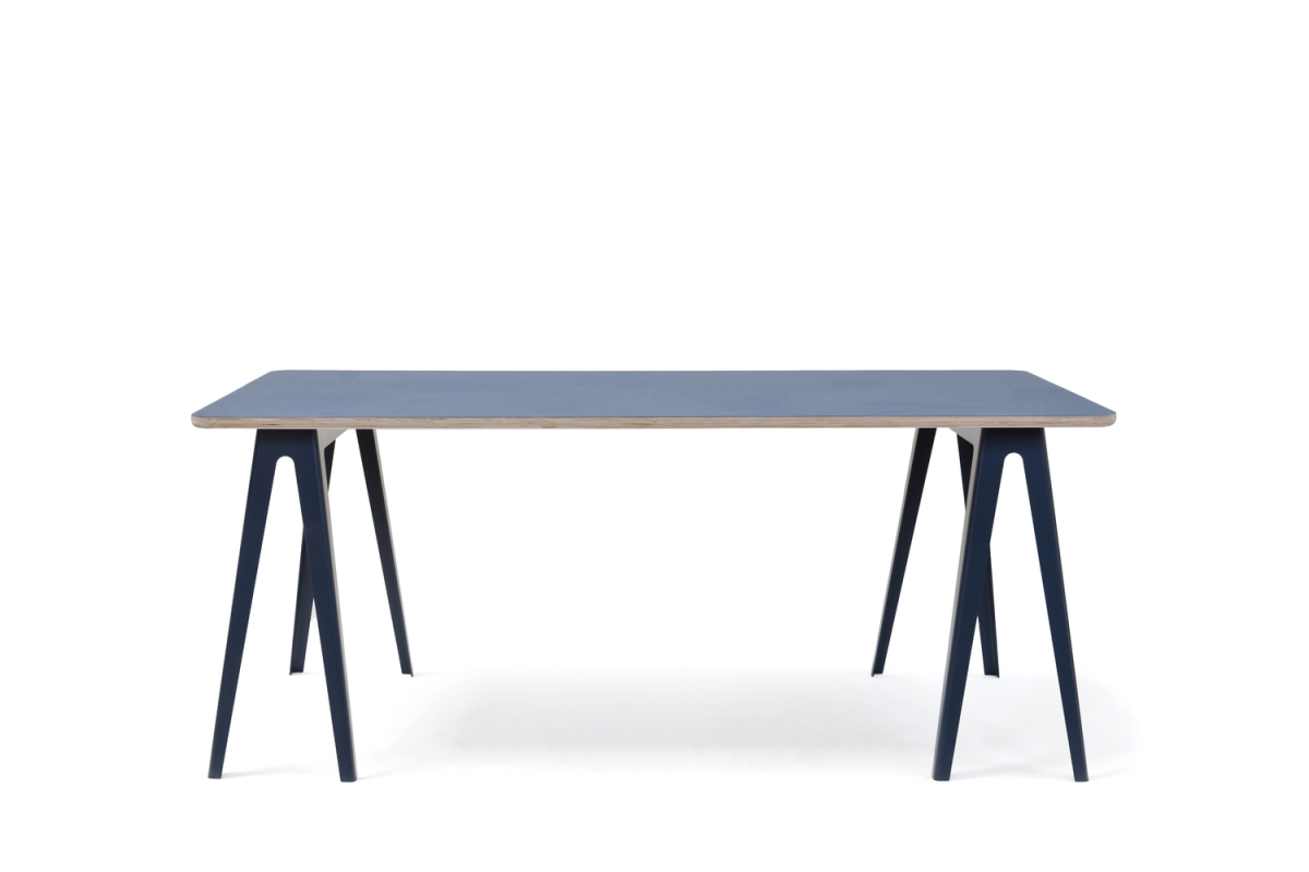 Vij5 Trestle Table David Derksen Schragen Tafel Forbo Blad Project Tafel