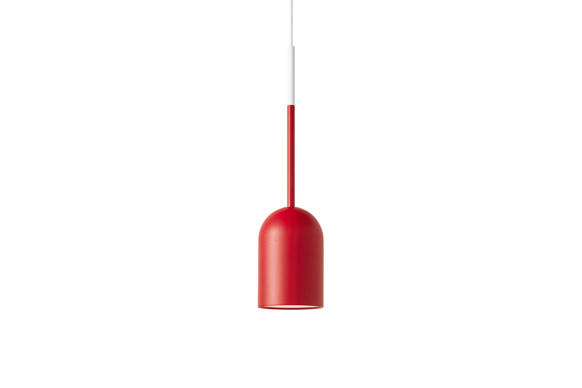 Frederik Roije Beaming Bobber Hanglamp Pencil Rood