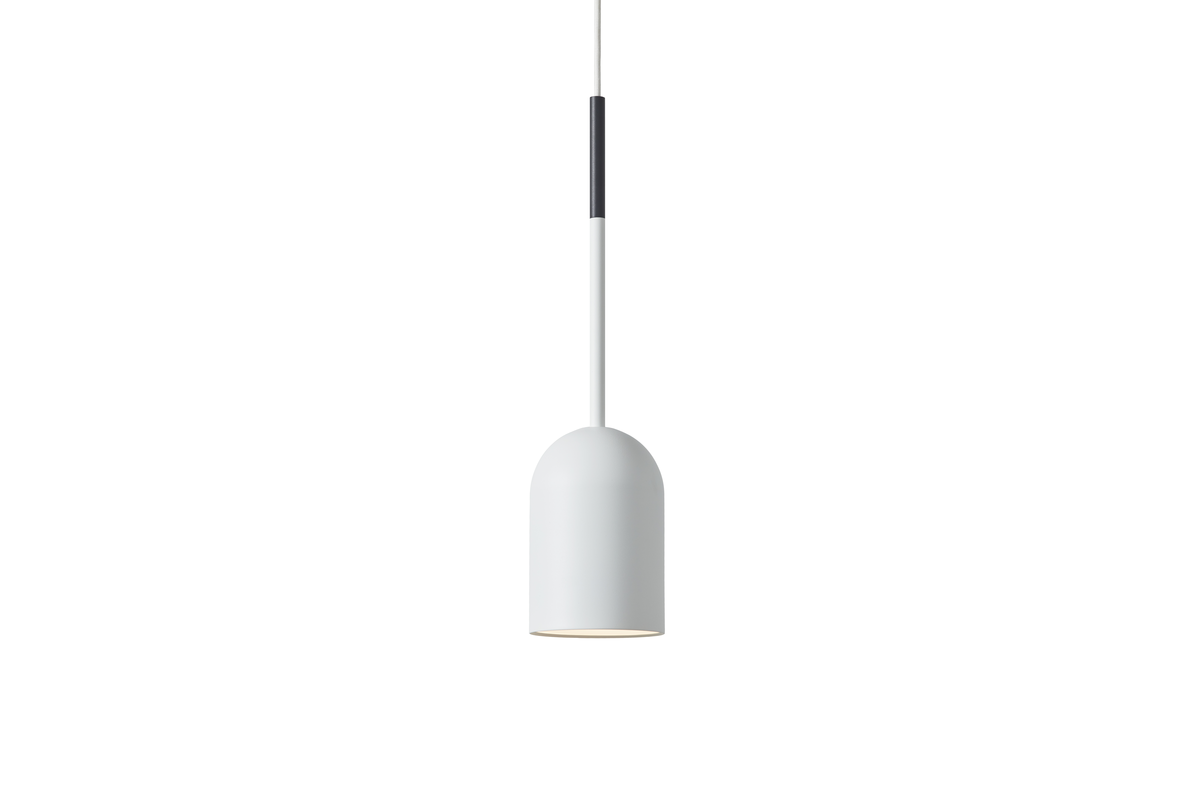 Frederik Roije Beaming Bobber Hanglamp Pencil Wit Donkergrijze Tip Dutchdesign Lamp