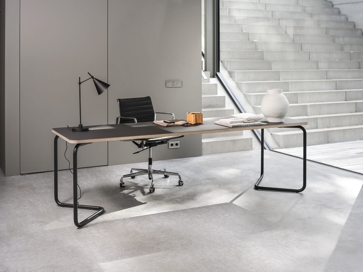 Functionals KUMPEL Table Black Charcoal 240X80 Kantoor Tafel