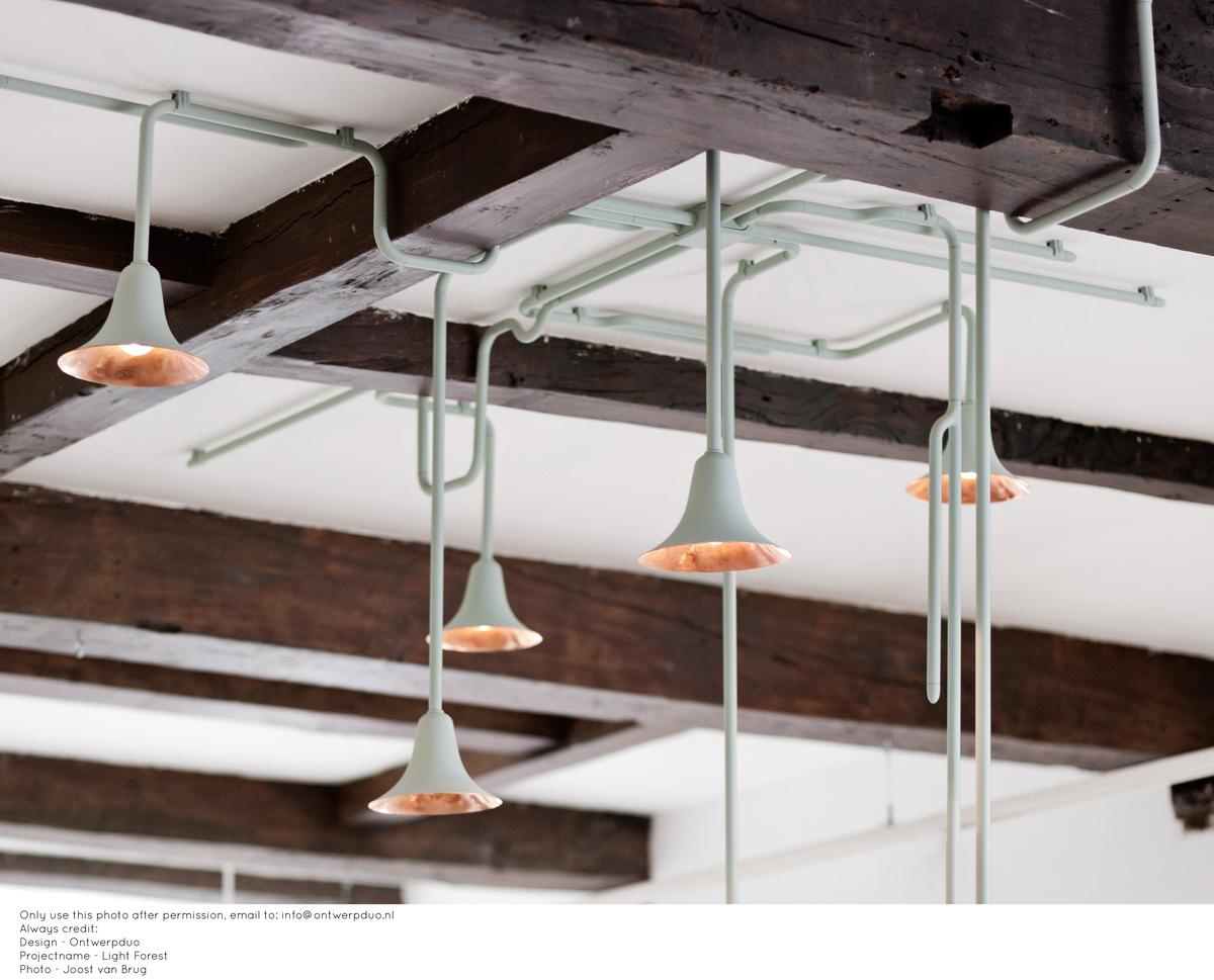 Ontwerpduo Lightforest Hanglamp Custommade Exclusieve Plafond Verlichting Plafond Project Foto LisaKlappe4