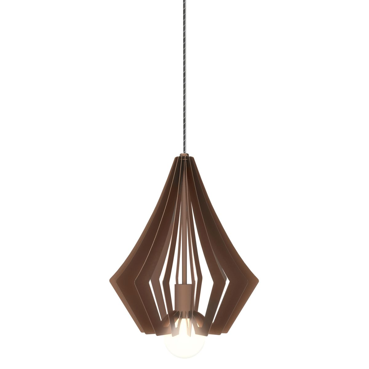 JSPR Beaudine I Bronze Opaque Dutch Design Verlichting