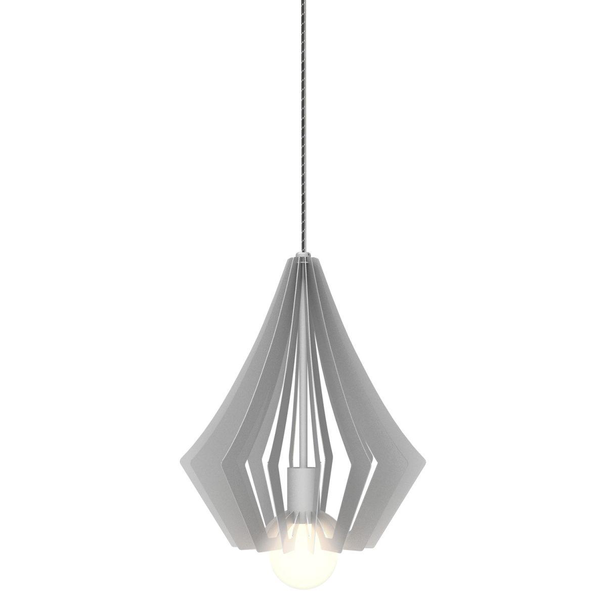 JSPR Beaudine I Silver Opaque Exclusieve Dutch Design Verlichting