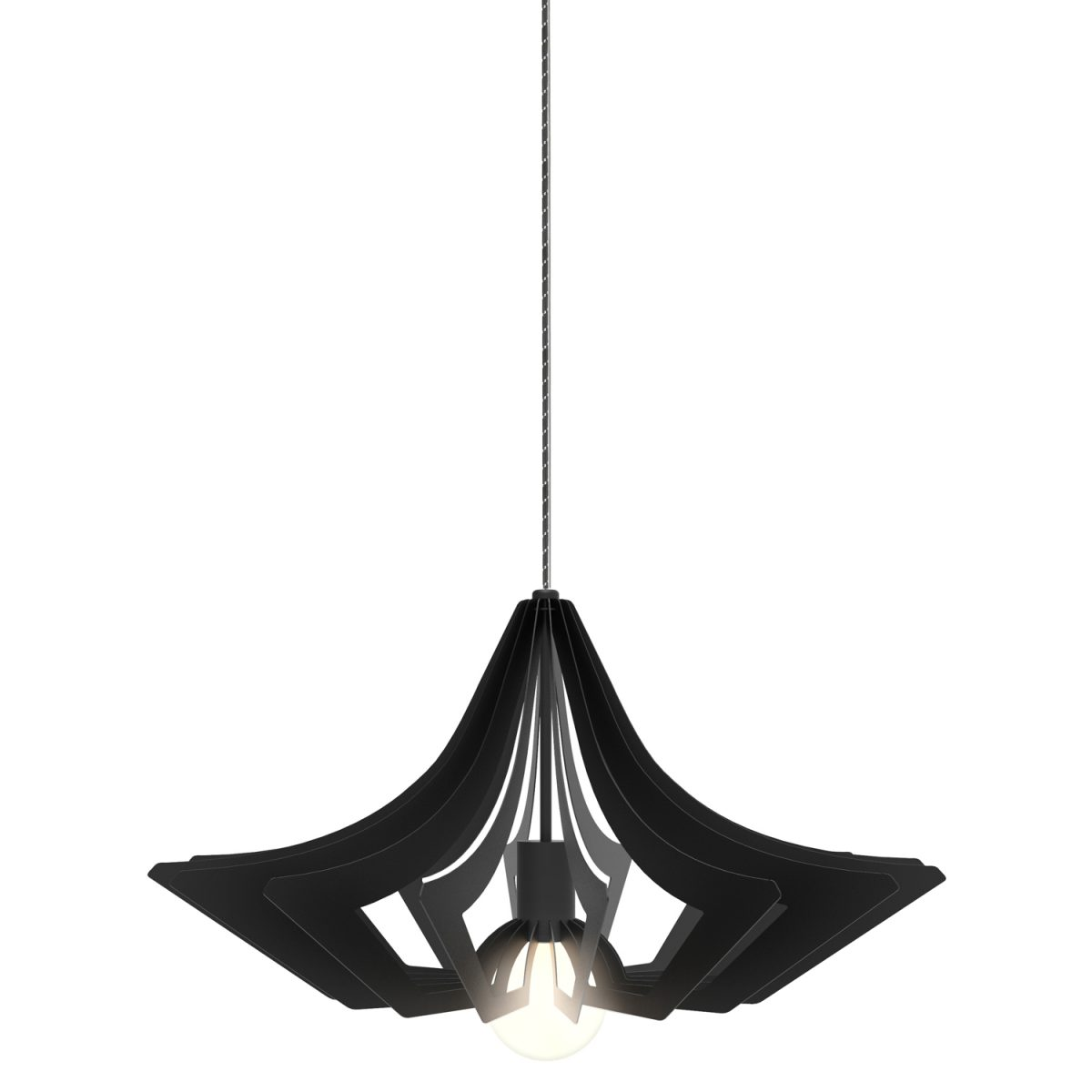 JSPR Beaudine II Black Opaque Project Verlichting Dutch Design