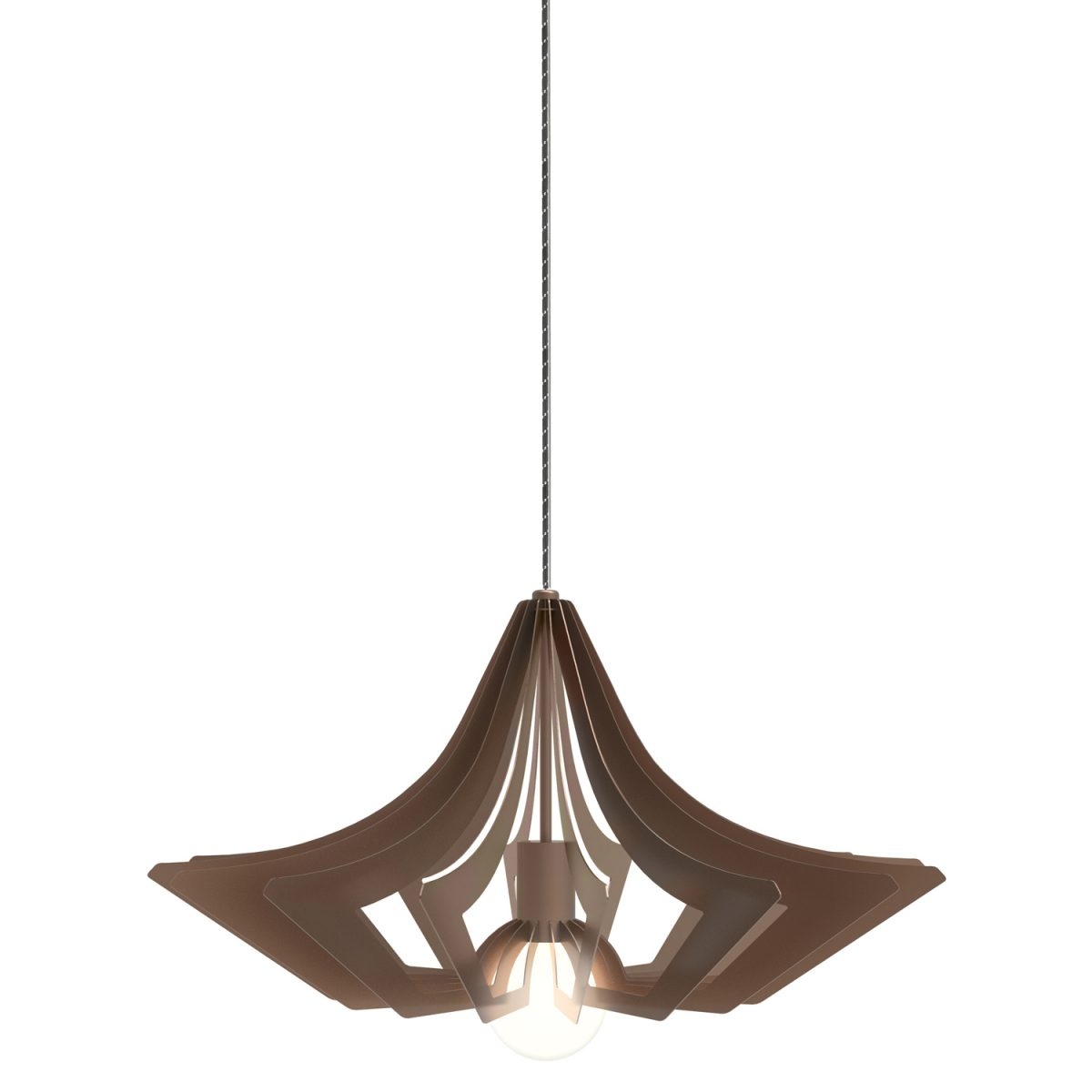 JSPR Beaudine II Bronze Opaque Dutch Design Verlichting