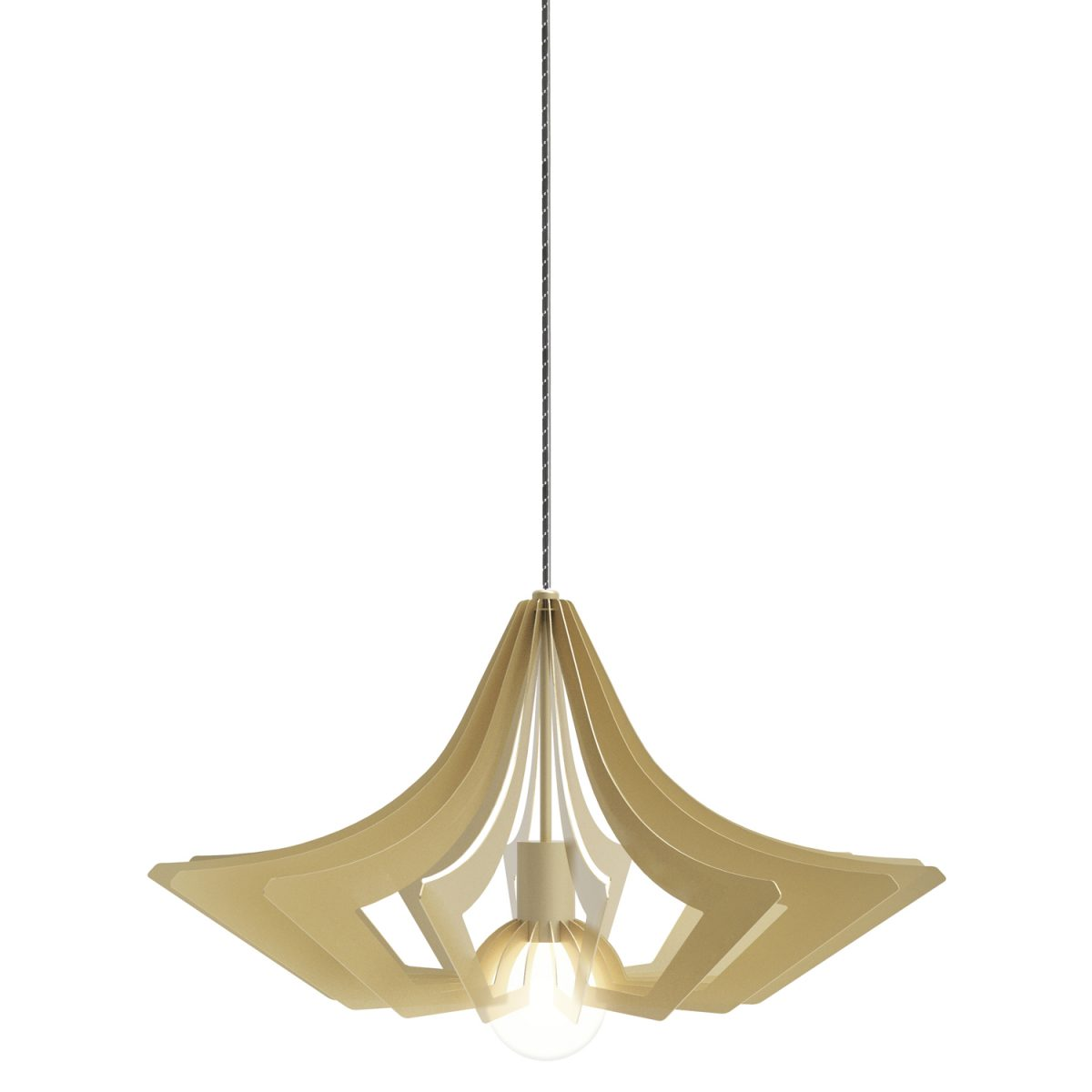 JSPR Beaudine II Champ Opaque Dutch Design Hanglamp