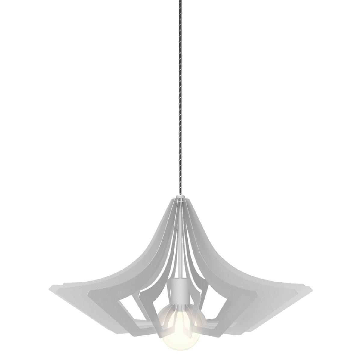 JSPR Beaudine II Silver Opaque Zilver Dutch Design Verlichting