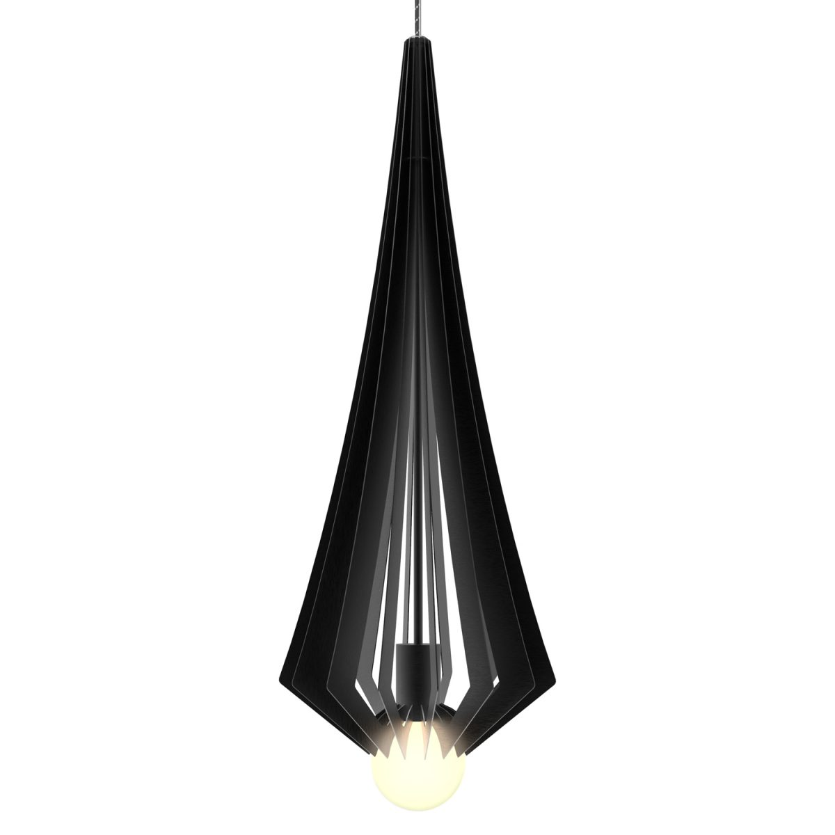 JSPR Beaudine III Black Opaque Project Verlichting Dutch Design