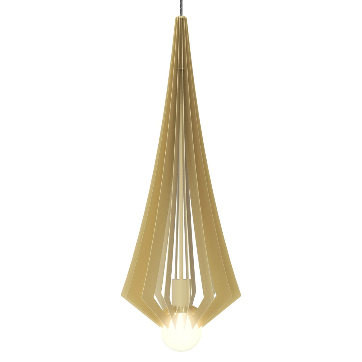 JSPR Beaudine III Champagne Opaque Dutch Design Hanglamp