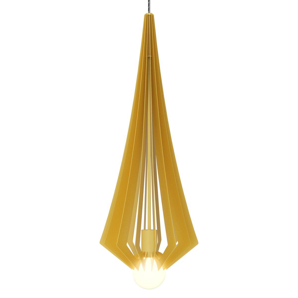 JSPR Beaudine III Gold Opaque Exclusieve Design Verlichting Goud
