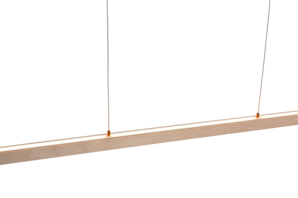 24mm Upanddown Led Hanglamp 1m Berken Bovenkant Arend Groosman
