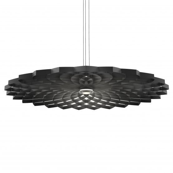 JSPR Dahlia L Black Project Pendant Zwarte Grote Hanglamp
