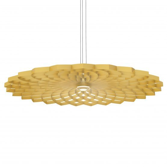 JSPR Dahlia Hanglamp L Gold Goud Projectverlichting