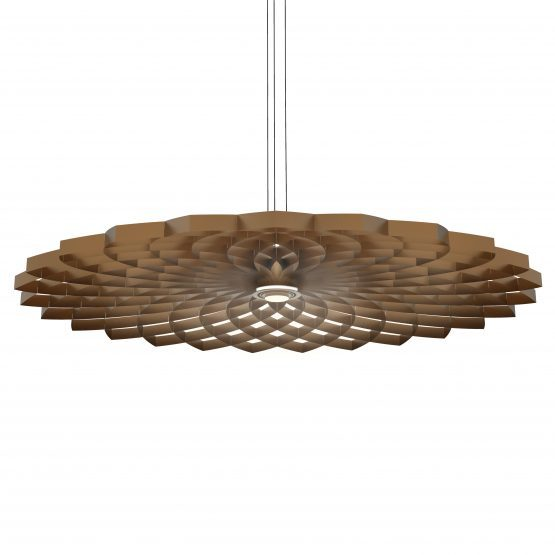 JSPR Dahlia Hanglamp Borns L Bronze Pendant Luxury