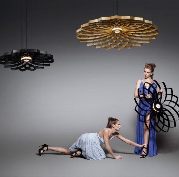 Dahlia hanglamp