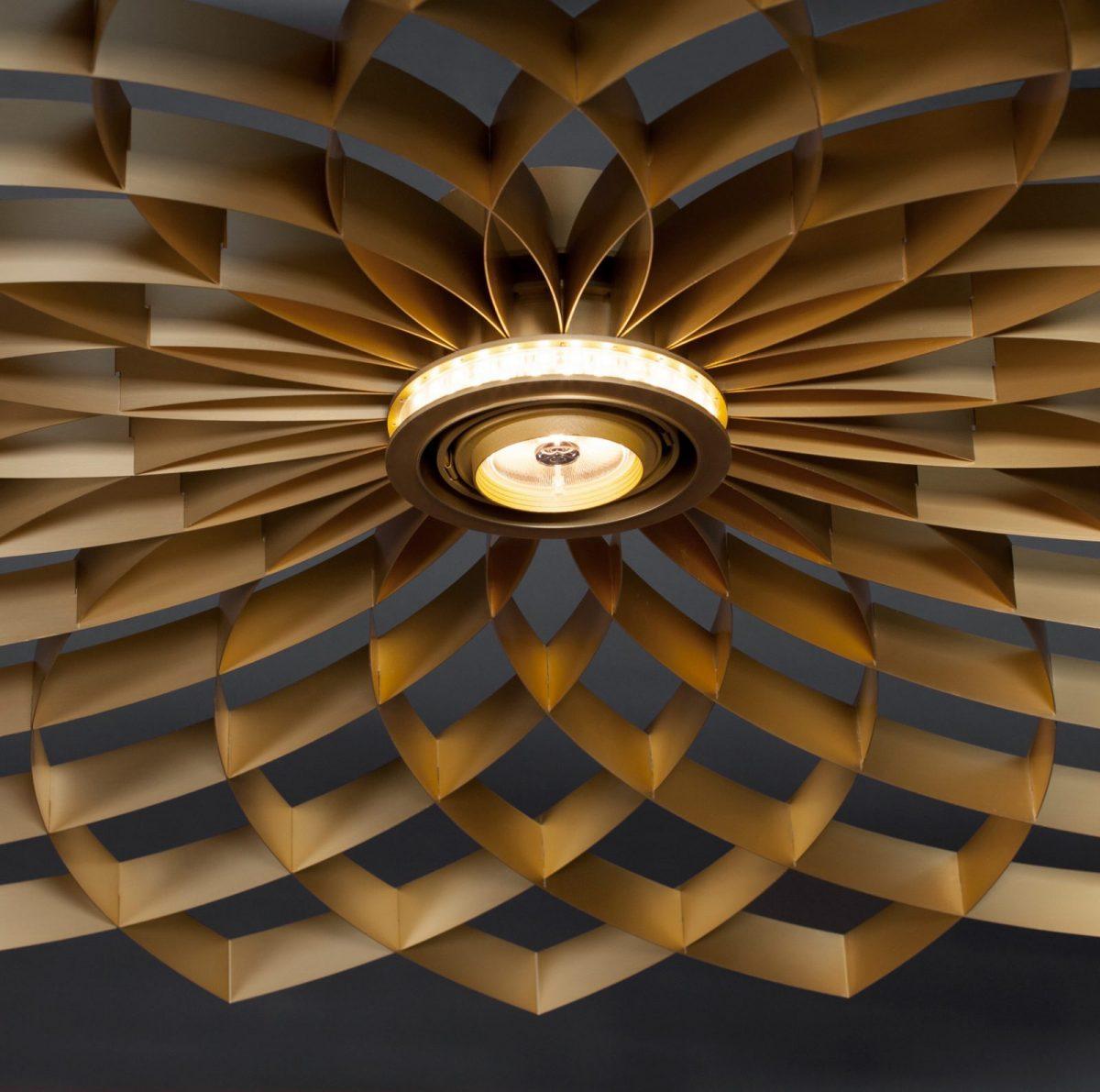 JSPR Dahlia Lamp Goud Exclusieve Projectverlichting Design