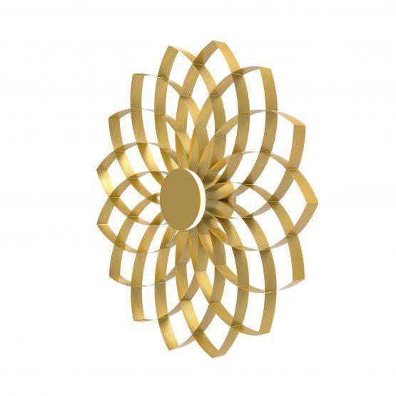 JSPR Dahlia Wall Gold Wandlamp Goud Projectverlichting