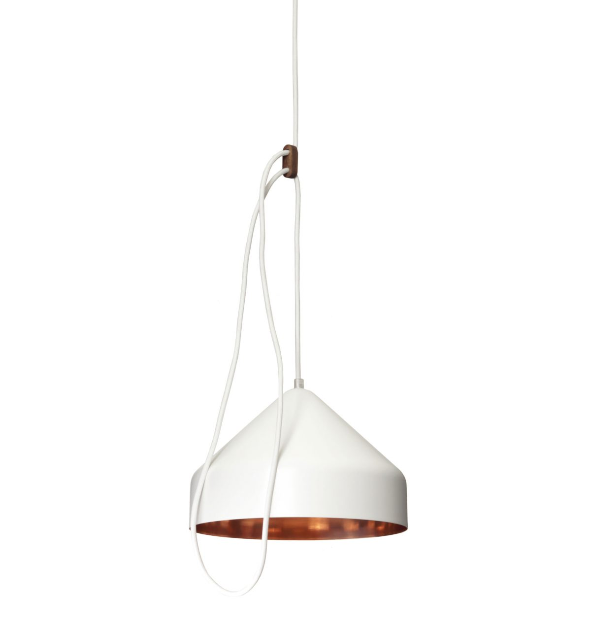 Lloop Hanglamp Koper Wit Vij5 Good Dutchdesign