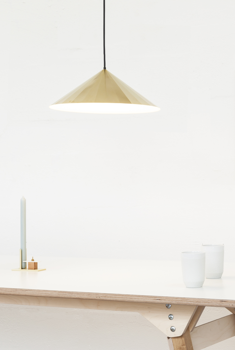 Vij5 Brass Light BL28 LED By David Derksen Interieur Design Setting