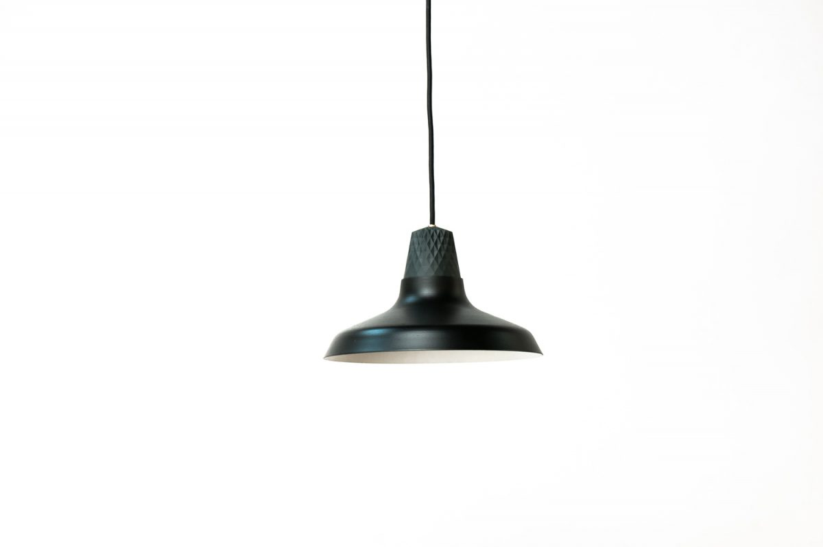 Patrick Hartog Lozenge Shade Black Small Unieke Hanglamp Project Dutchdesign