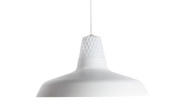 Lozenge Shade Large white