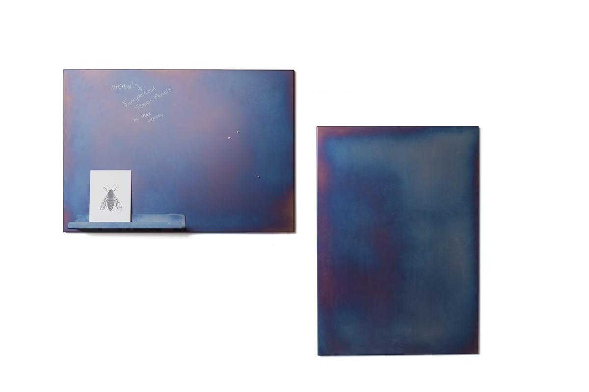 Vij5 Tempered Steel Panels By Max Lipsey Hier Met Magnetisch Plankje