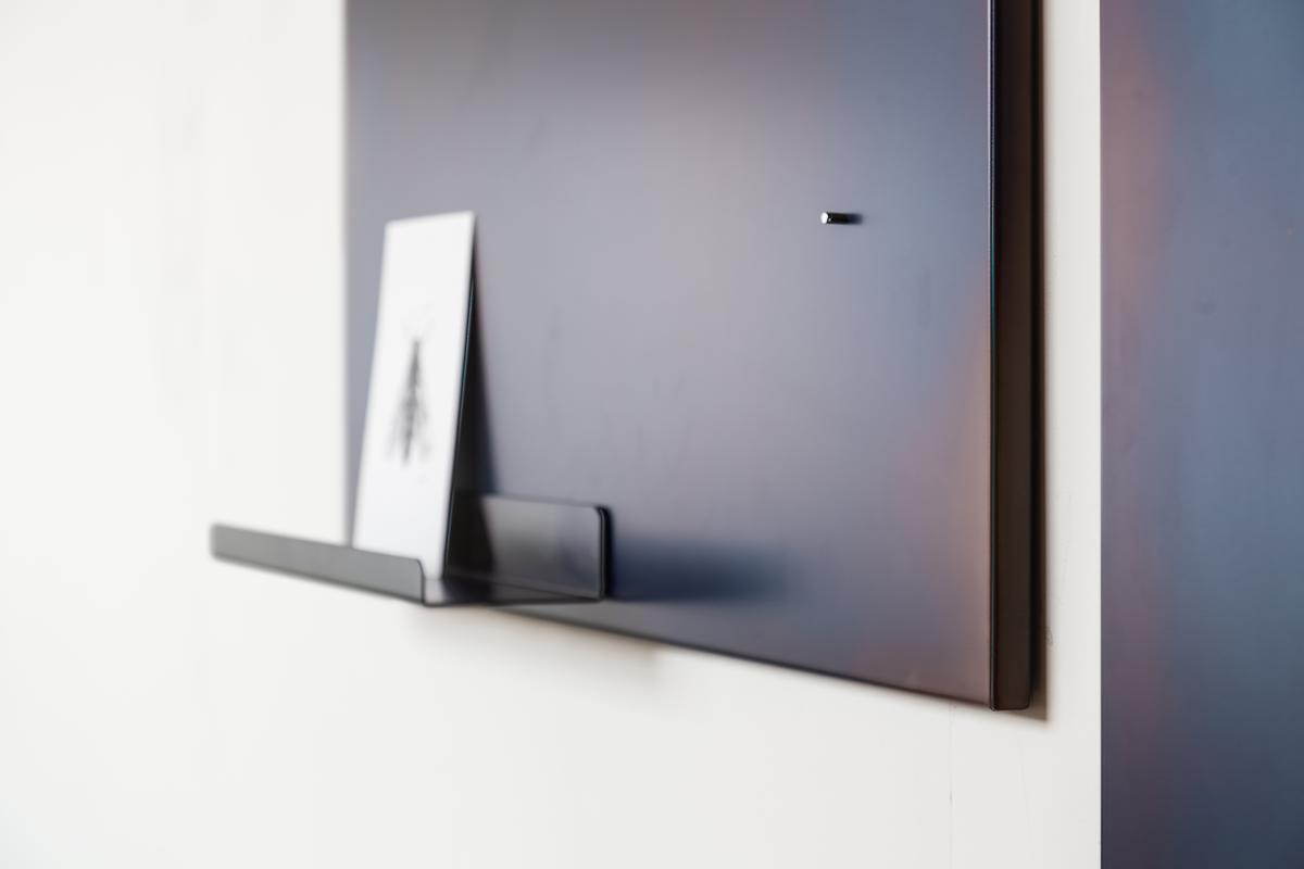 Vij5 Tempered Steel Panels By Max Lipsey Met Magnetisch Plankje