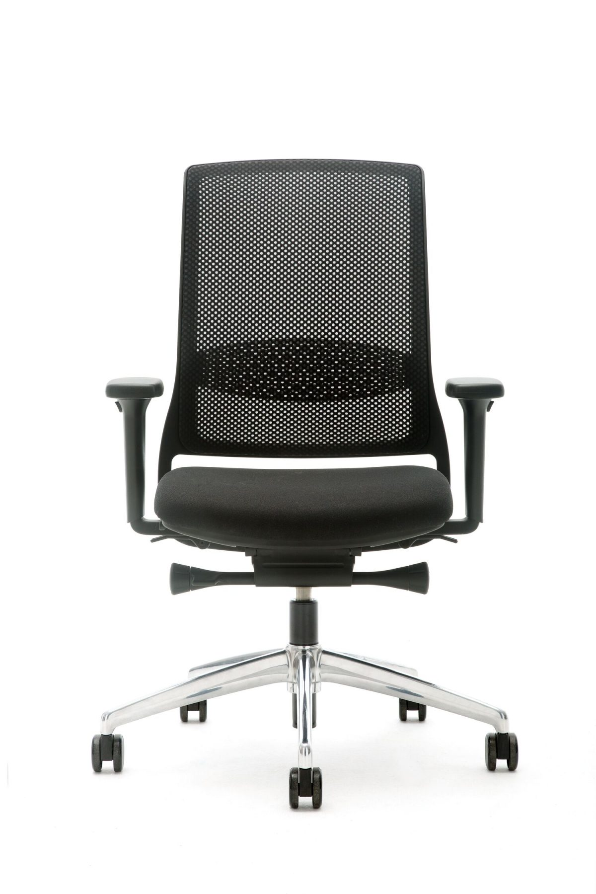 Gispen Zinn Smart bureaustoel alu voetkruis