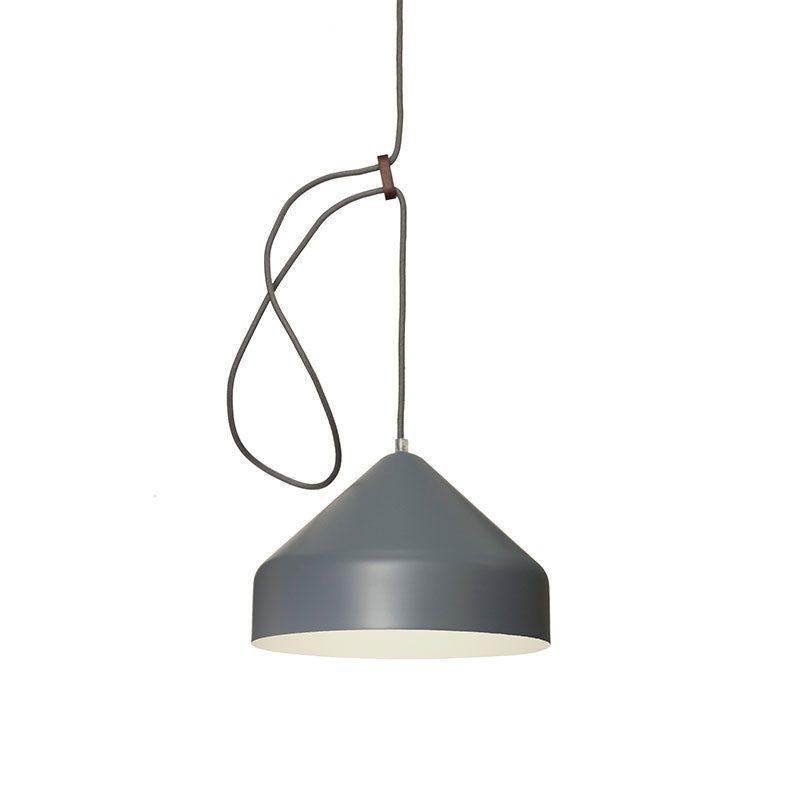 Vij5 Lloop Classic Grey Llus Grijs Witte Binnenkant Projectlamp