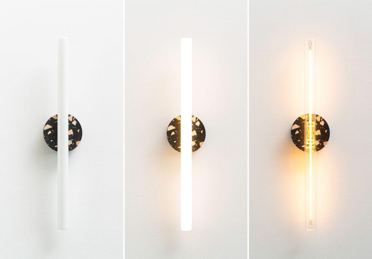 Recast Wandlamp Aan Uit Helder Tl Opaal Melkwit Project Verlichting Dutch Design