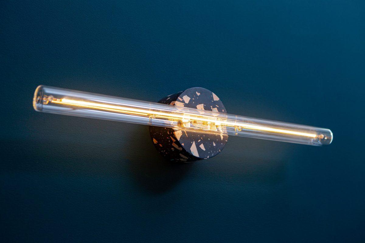 Recast Wandlamp Zwart Composiet Galaxy Black Helder Tl Gimmii Dutch Design Online