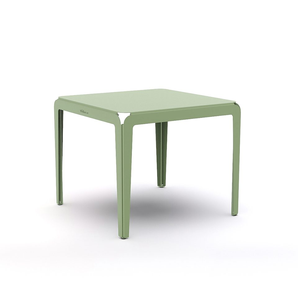 Weltevree Bended Table 90 Palegreen Groen Dutch Design Online