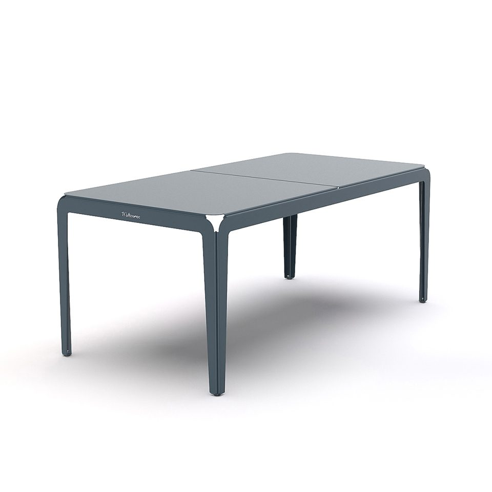 Weltevree Bended Table 180 Greyblue Grijsblauw Tuintafel Dutch Design Online