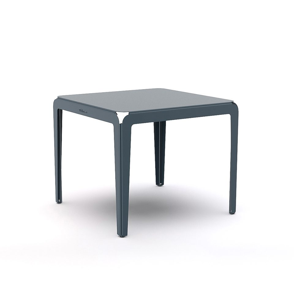 Weltevree Bended Table 90 Greyblue Grijsblauw Dutch Design Online