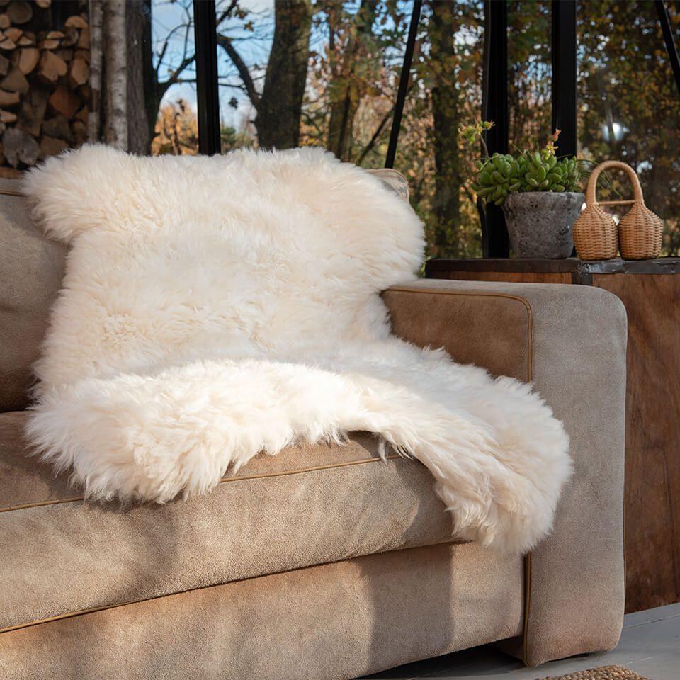 Weltevree Sheepskin White On Couch