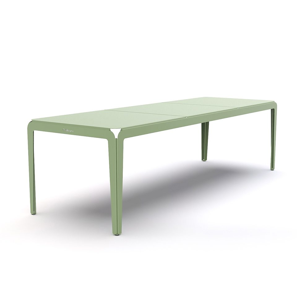 Weltevree Bended Table 270 Palegreen Tafel Buiten Groen