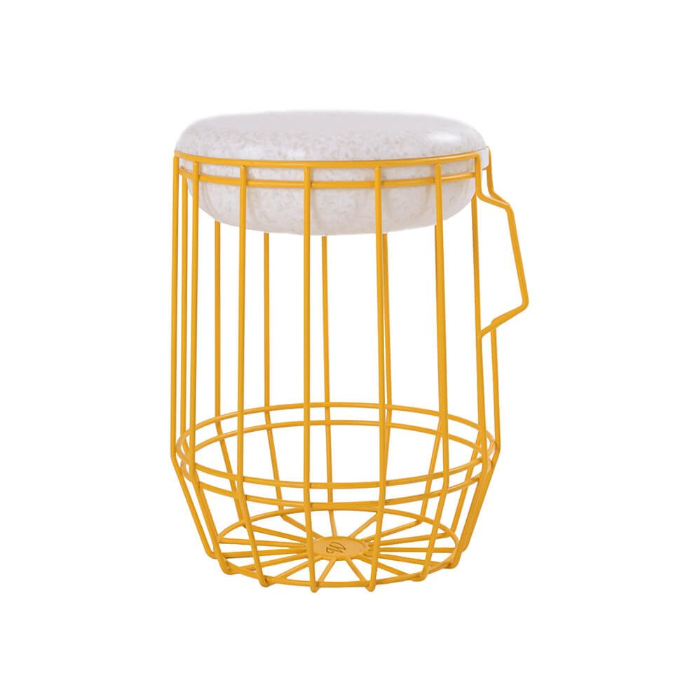 Carrier Yellow Stoel Opberger Outdoor Dutch Design Online