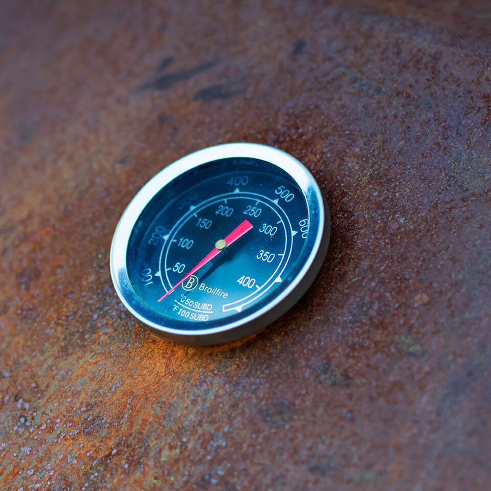 Outdooroven XL Detail Thermometer