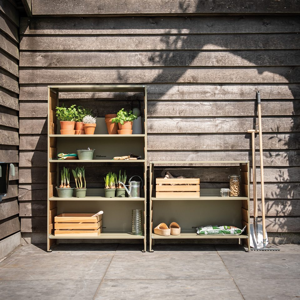 Weltevree Rabat Shelving Outdoor Storage Tuinkast Dutchdesign Online
