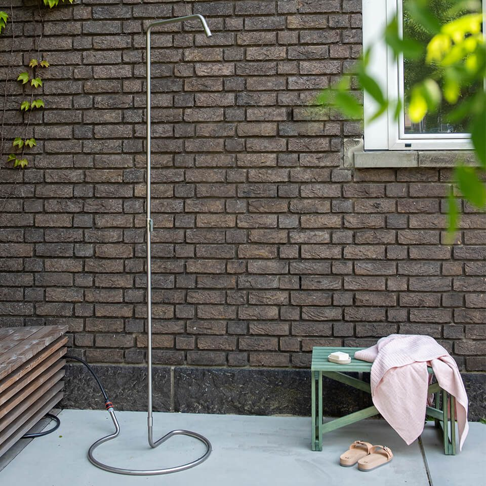 Weltevree Serpentine Outdoor Shower Minimalist