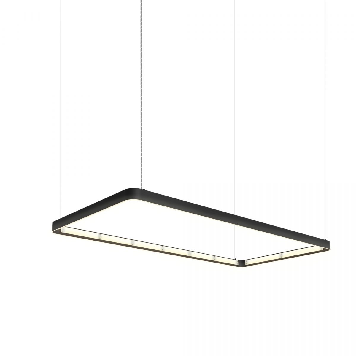 JSPR Eden Deco 75×150 Black Rectangle