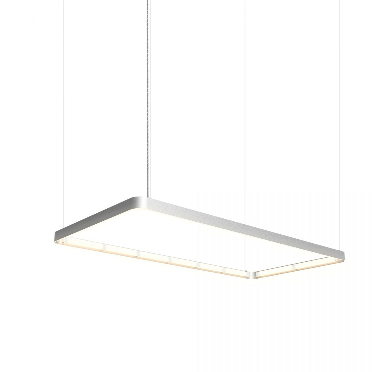 JSPR Eden Deco 75×150 Silver Rectangle