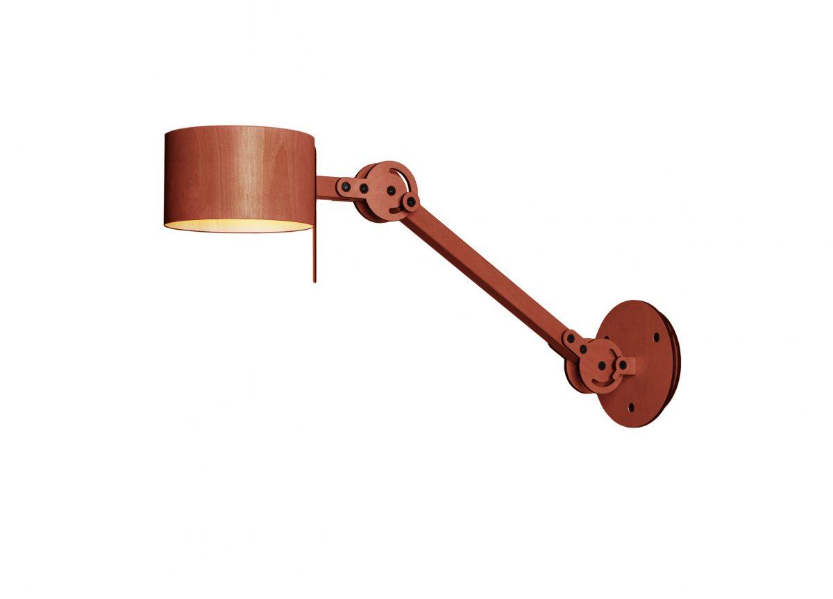 24mm Circle Arc Wall Lamp RED