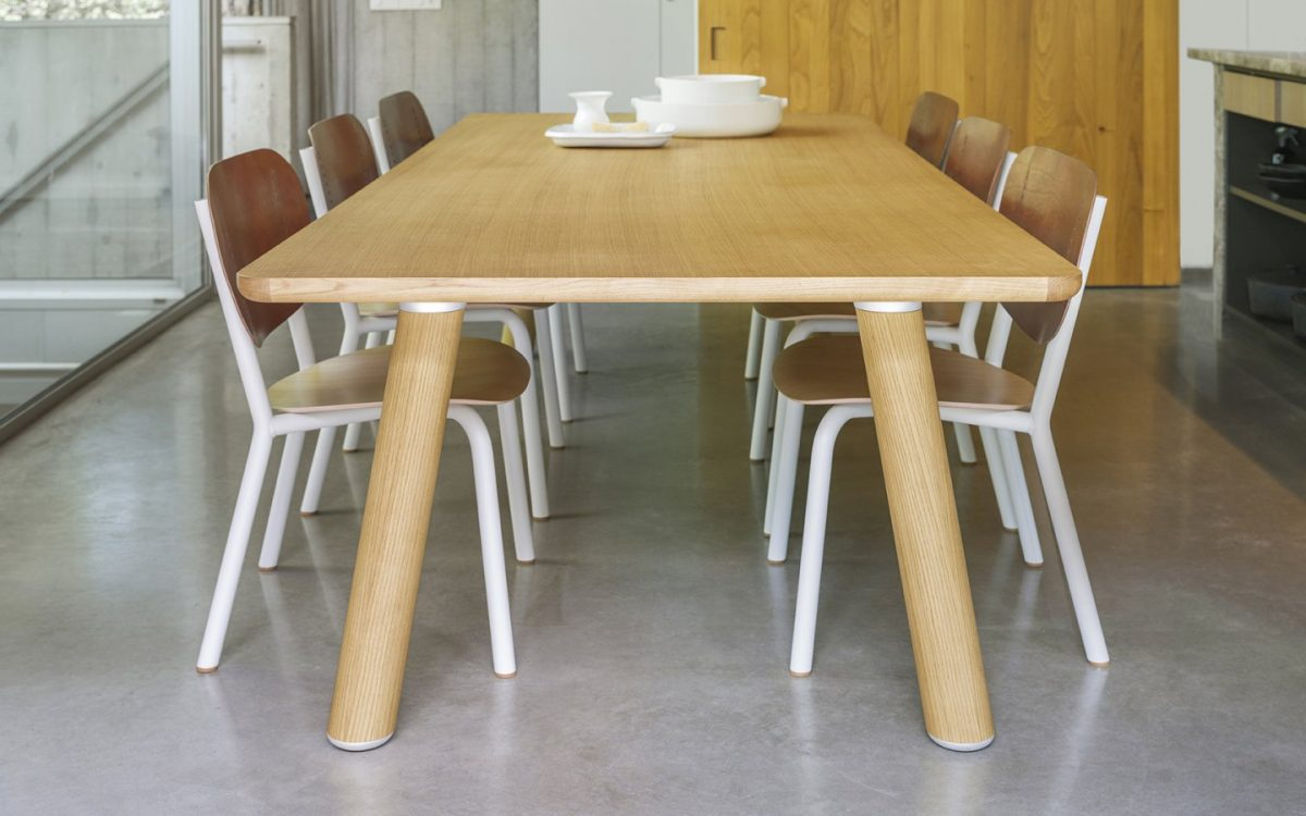Air Wooden Table Side