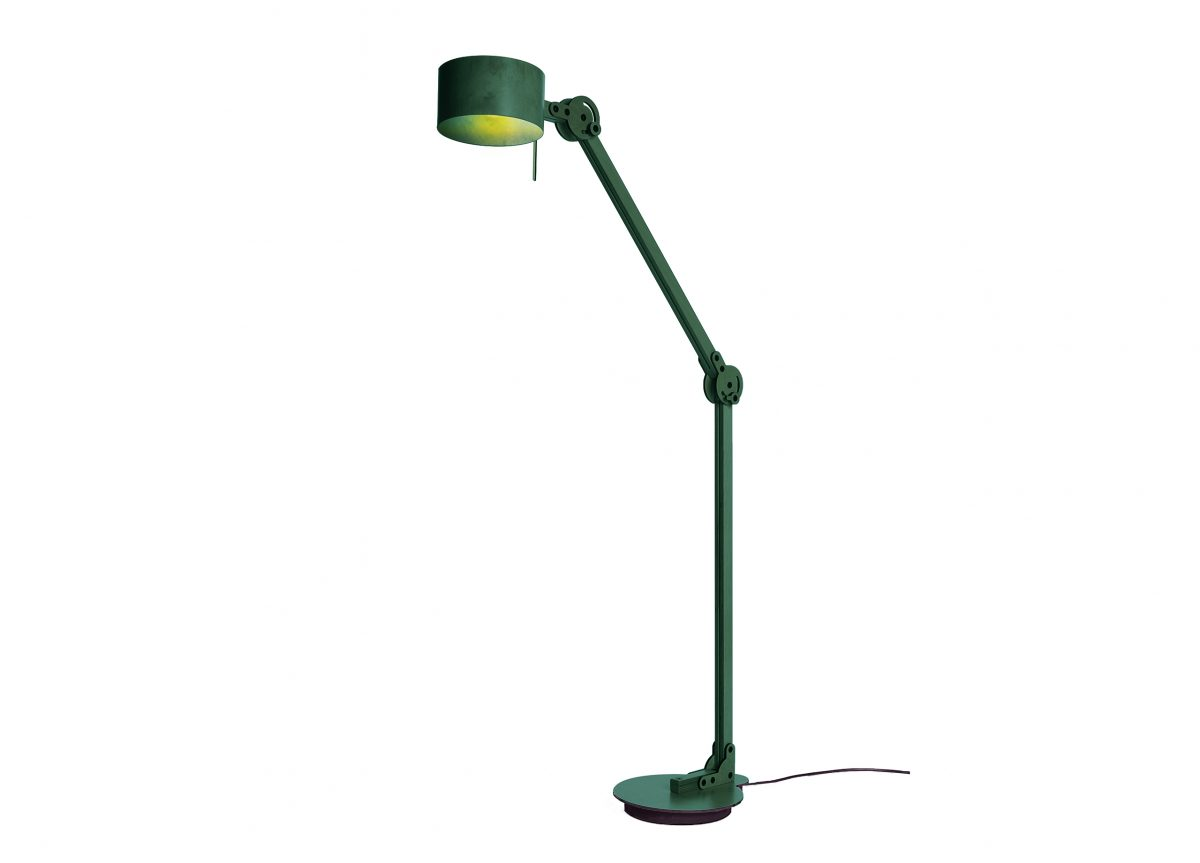 Circle Arc Floorlamp Groen