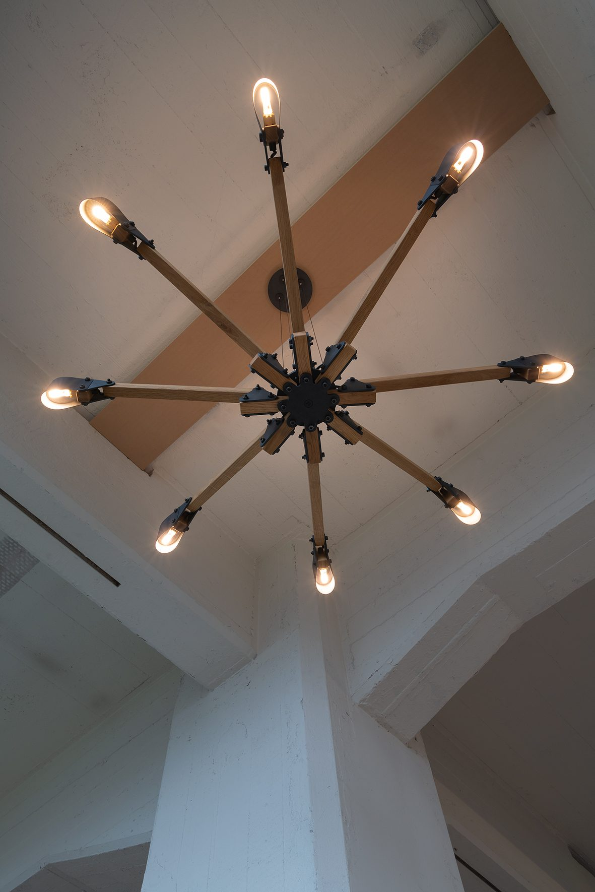 Triangle Chandelier Overview