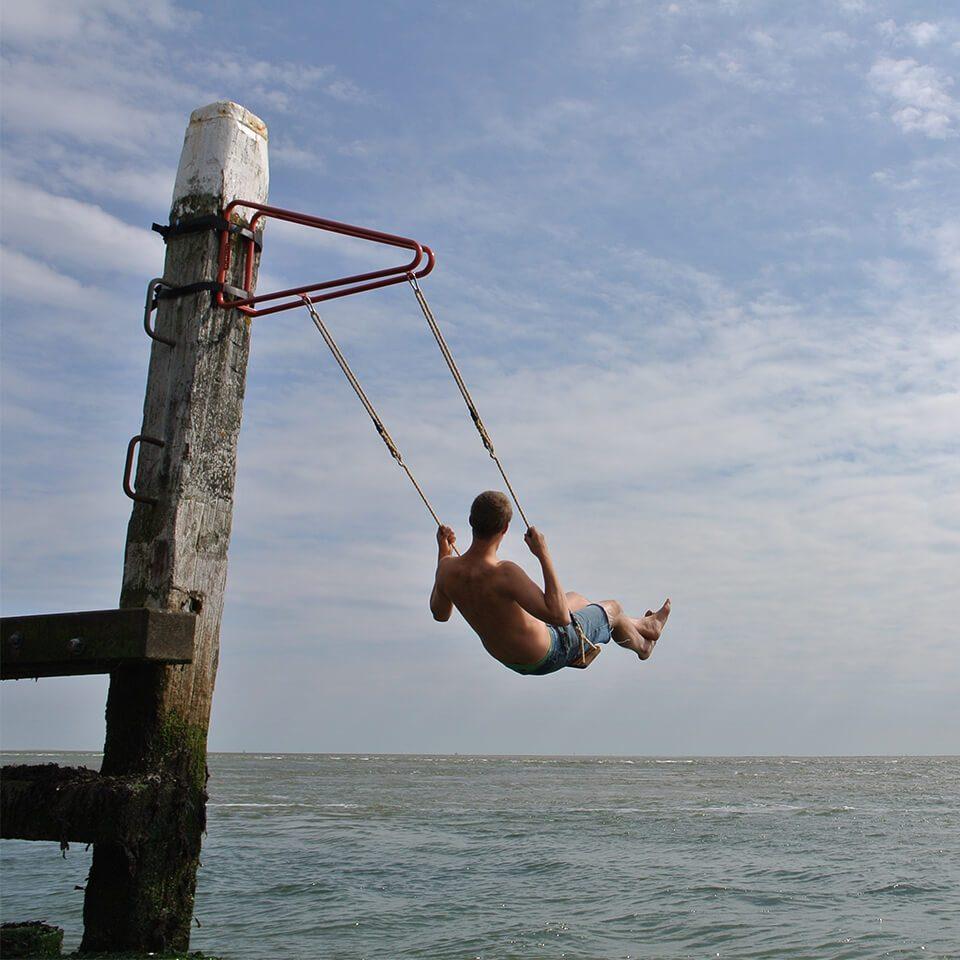 Weltevree Swing Outdoor Setting Sea
