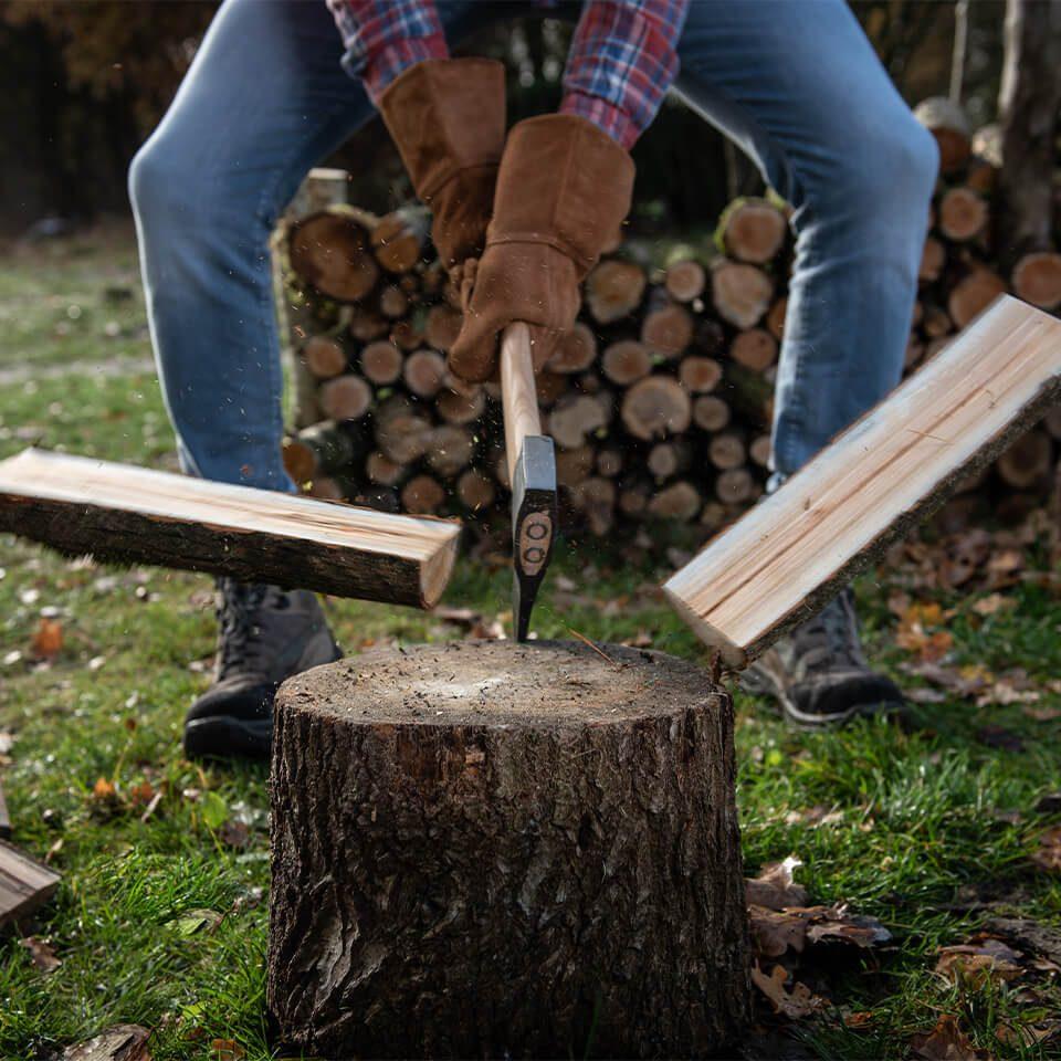 Weltevree Splitting Ax Wood Action