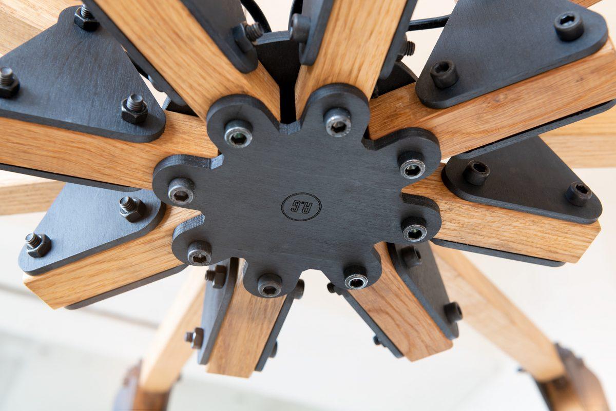 Triangle Plafond Kroonluchter 8arms Detail 3