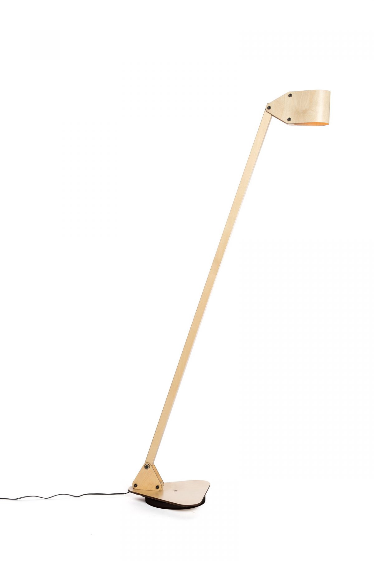 24mm Triangle floor lamp